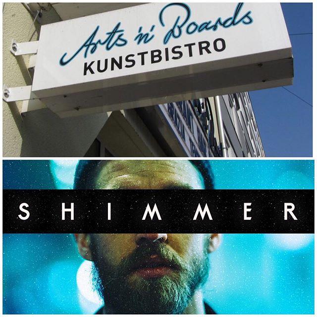 Heute // Ab 19:30 Uhr // Shimmer // Akustisch  Arts'n'Boards // Belgradstr. 9 // München  @artsandboards  #münchenlive #munichlive #akustisch #openmic #münchen #live