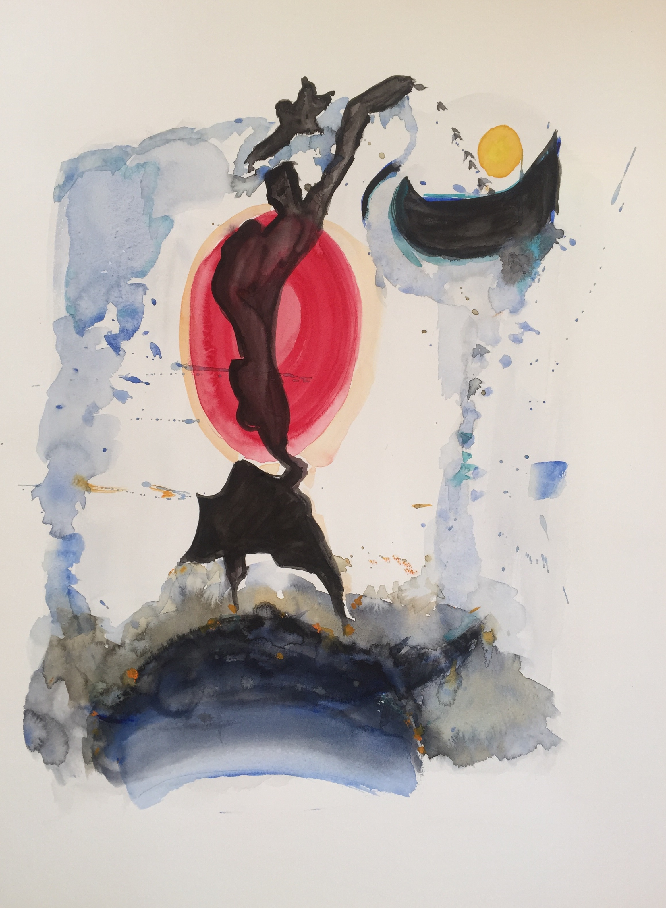 Dance of the Sun (2016) 18x24