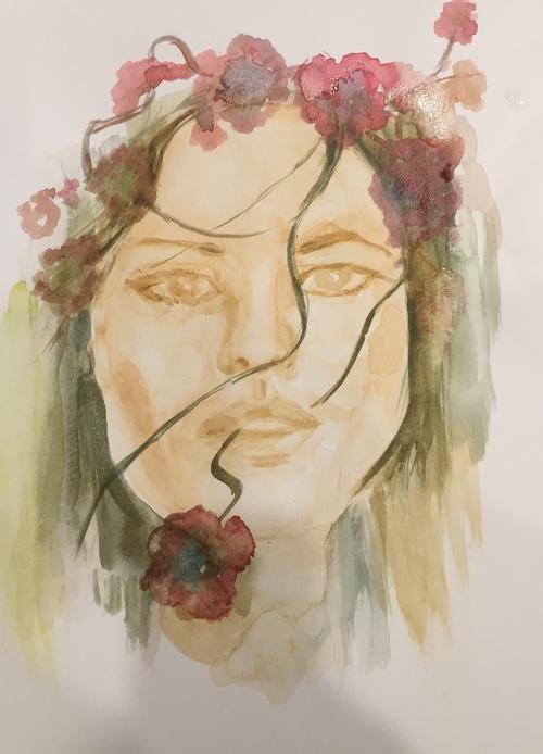 Flower Lady #3