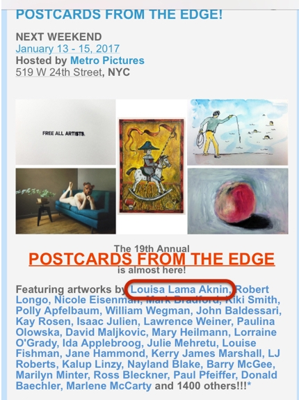 Postcards from the Edge 2017