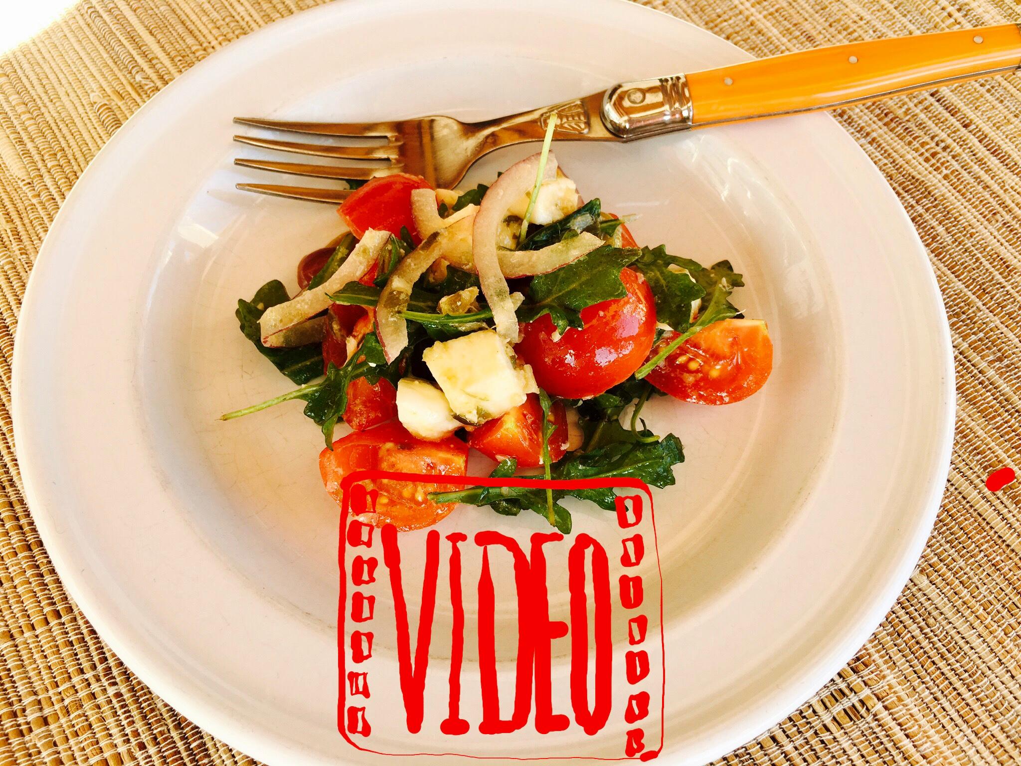 Tomato-Mozzarella Salad with Sauce 7