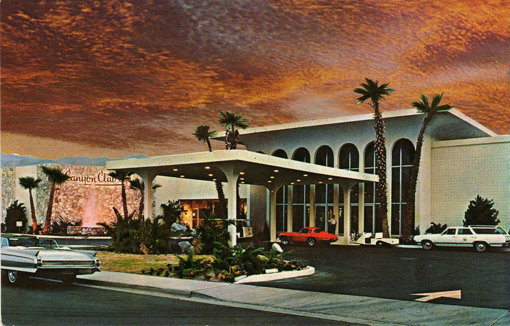 The Canyon Hotel prior to demolition (photographer unknown)