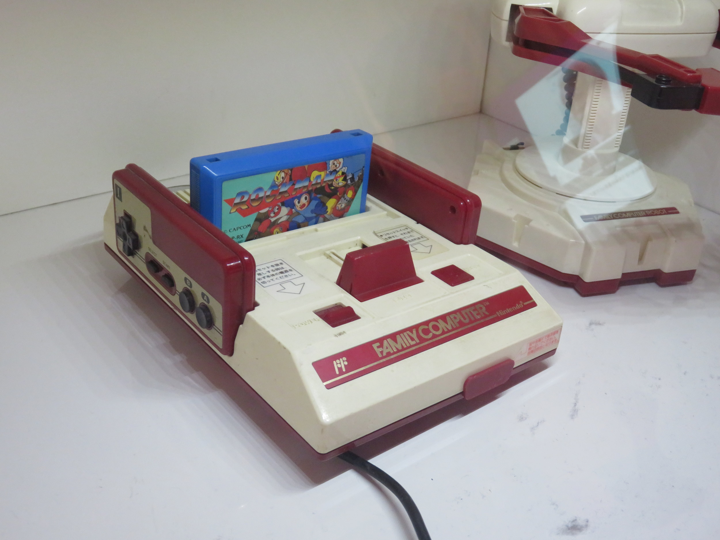 The original Famicom (Family Computer), Japanese counterpart to the NES