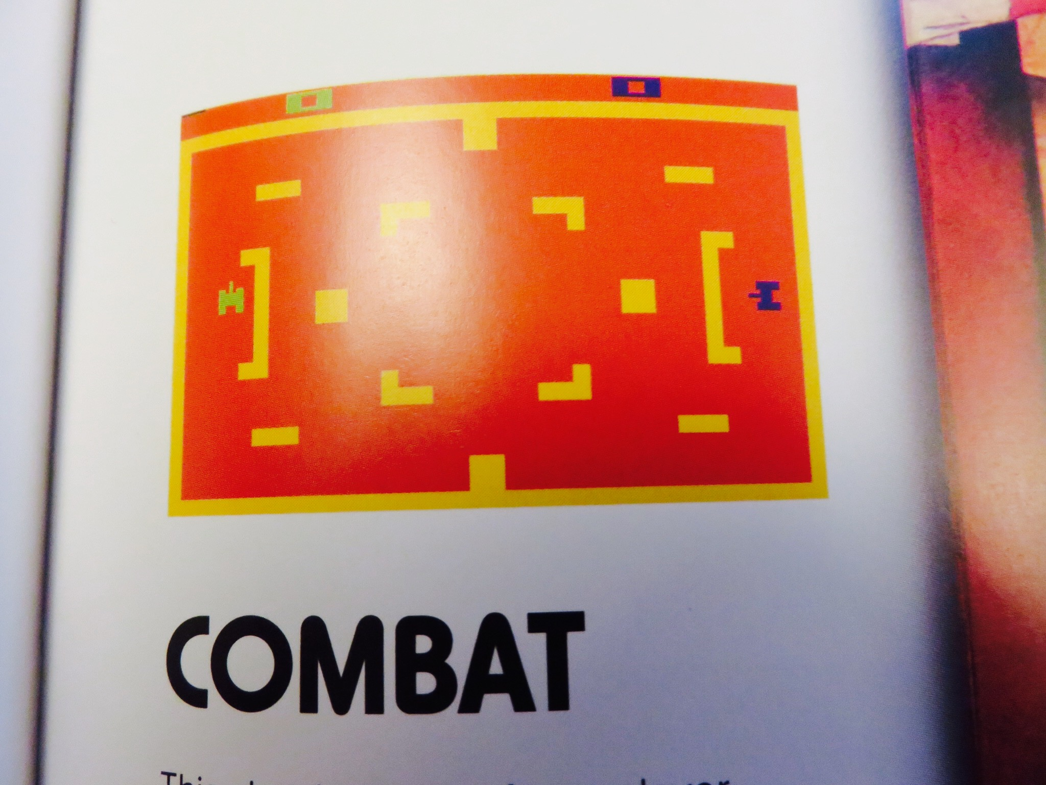 Combat gameplay screen.© The Art of Atari