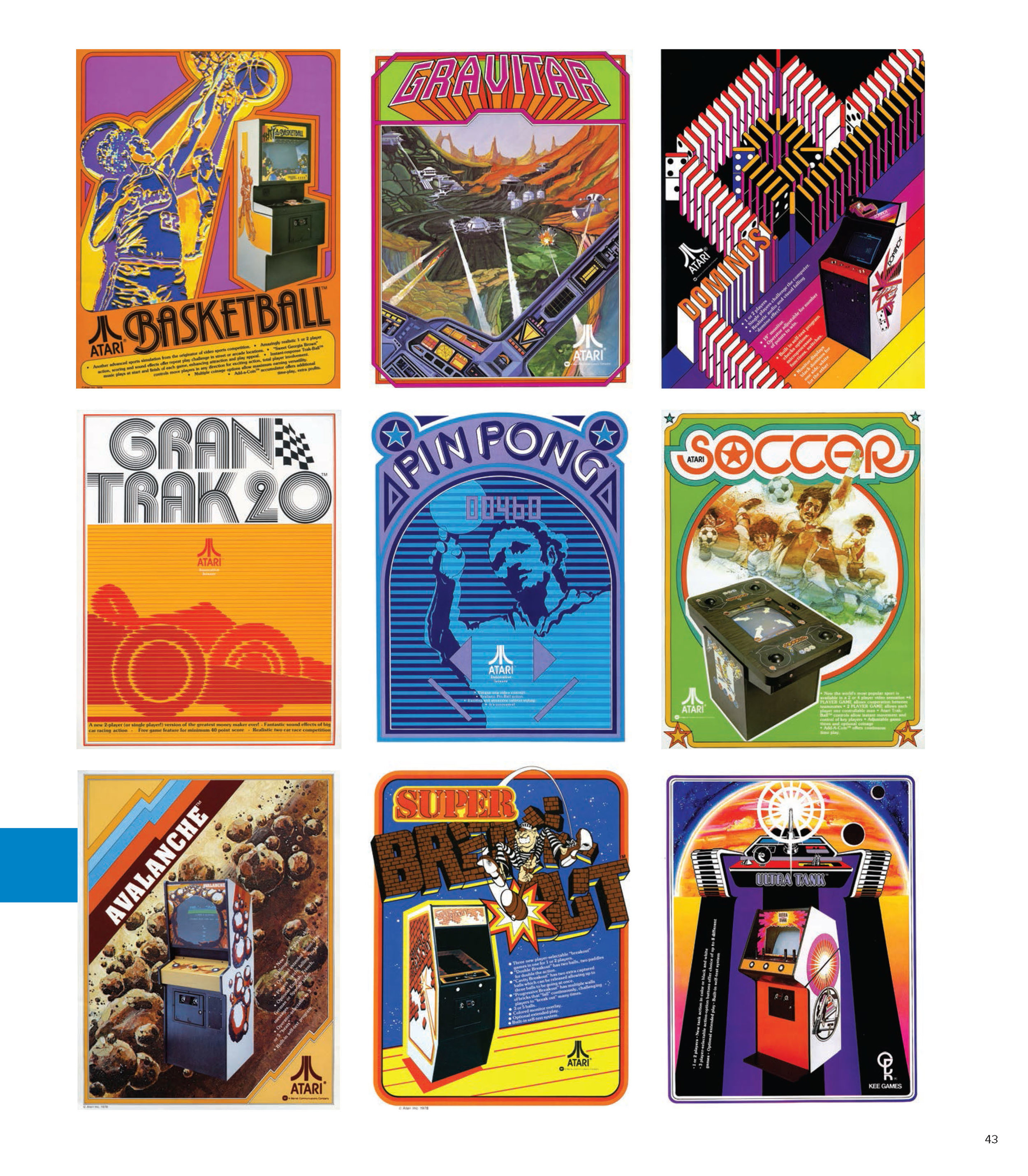 Assorted box art.© The Art of Atari