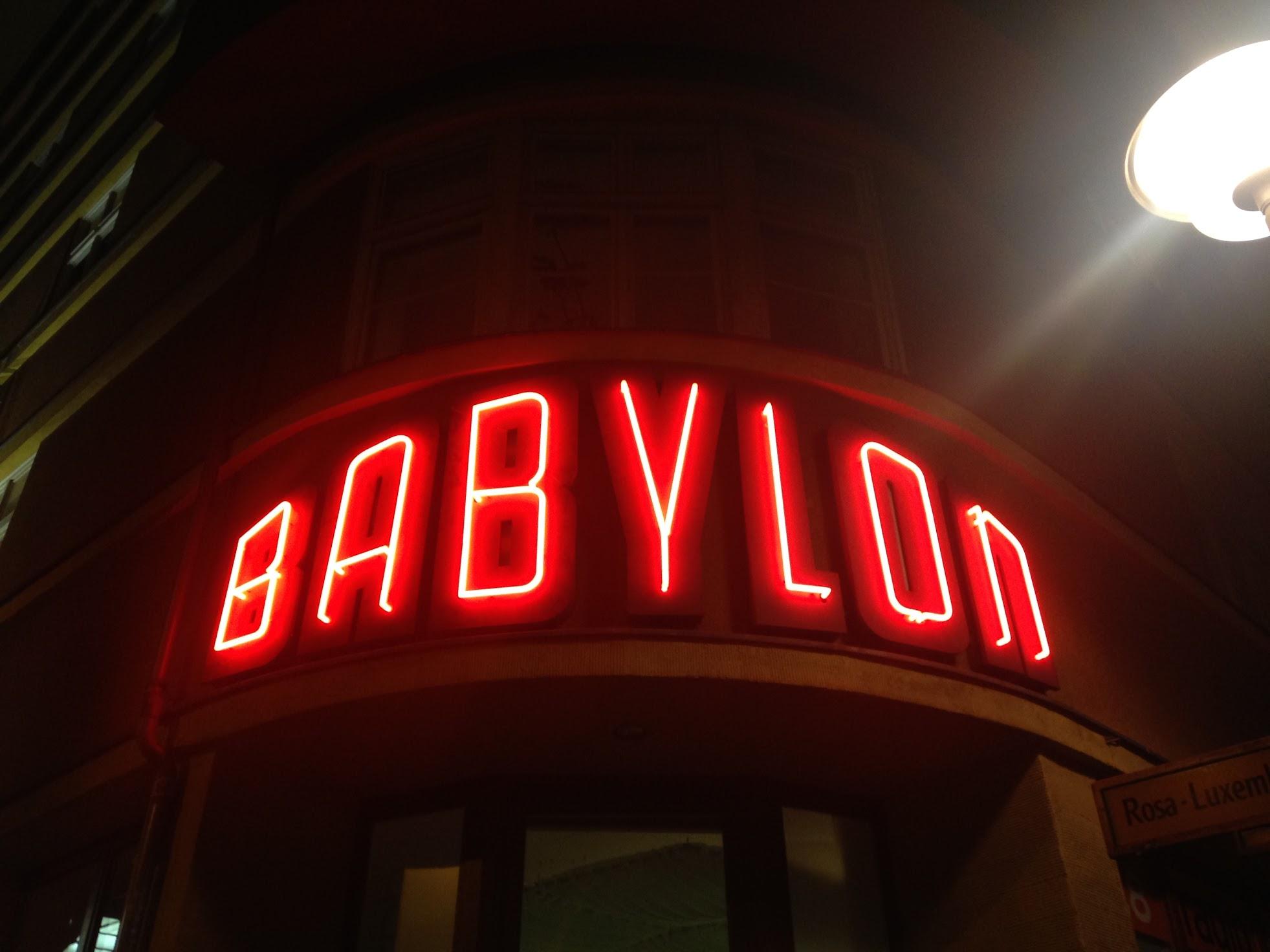 Kino Babylon, Rosa-Luxemburg-Platz