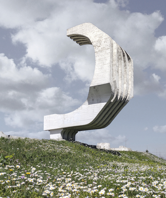 Monument to the Fallen Fighters of Golubovci. Golubovci, Montenegro. Completed 1974.