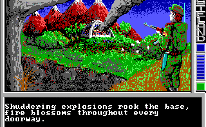 Wasteland, precursor to the immensely popular post-apocalyptic Fallout series. Image via  the CRPG Book Project .