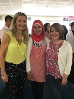 Aisha Alnajaar who achieved 2 A* in DA science in 1 year