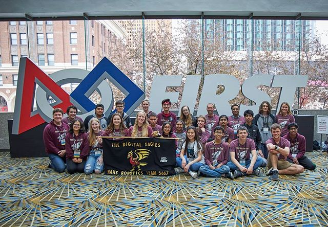 We had the greatest time at the Detroit World Championships!!! We ranked 29/68 in the Tesla division and even got a Unicorn (4-ranking-point win)!! We spent time with our favorite people and had the most fun hanging out as a team! More than anything we are grateful to have had the amazing opportunity to go to Worlds and proud to have improved so much from last year to have qualified!! We can't wait to go next year!!!! ;)