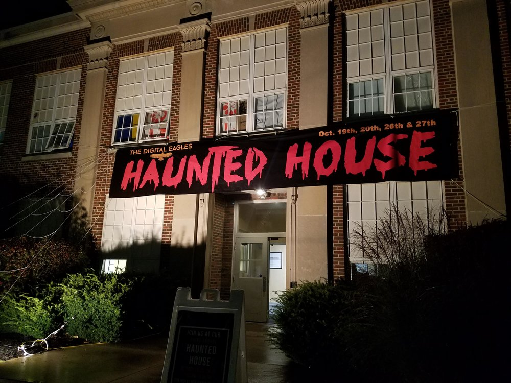 Annual Haunted House Fundraiser