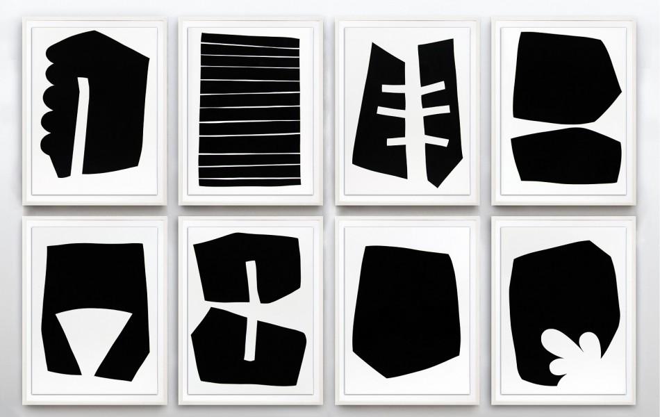 suite of 8 prints
