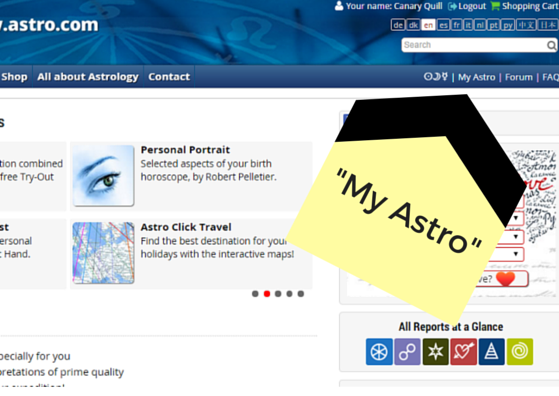 Astro.com is the best place to get a Natal Chart drawn up, so start there.