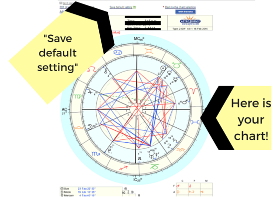 And this is what a Natal Chart finally looks like!