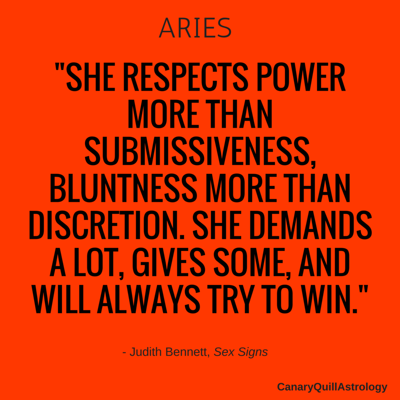 ARIES — Canary Quill Astrology