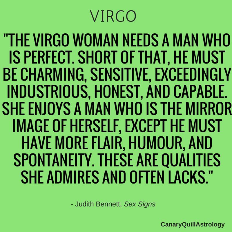 Virgo appearance females