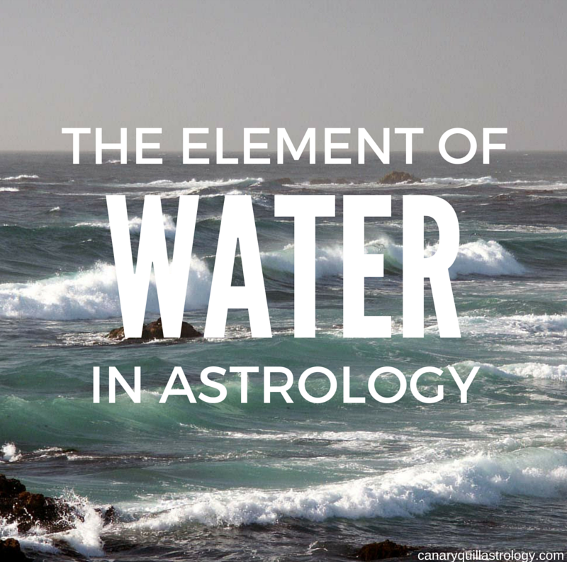 The Element of WATER: Cancer, Scorpio, Pisces