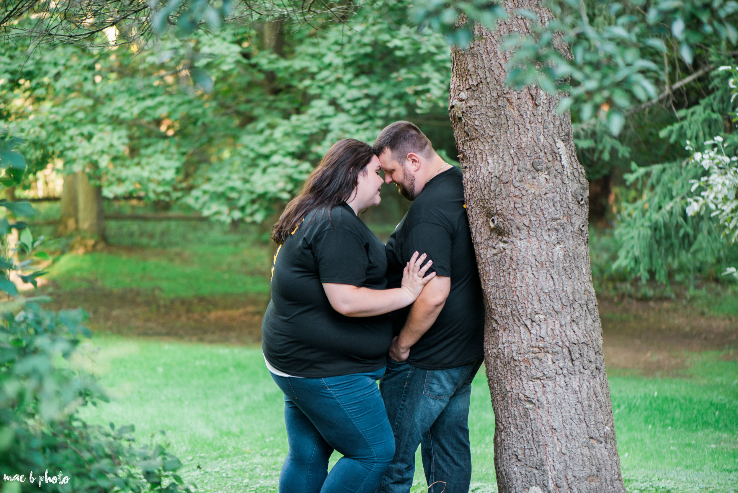 Kristina & Ryan's Summer Mill Creek Park Engagement Session in Youngstown, Ohio-30.jpg