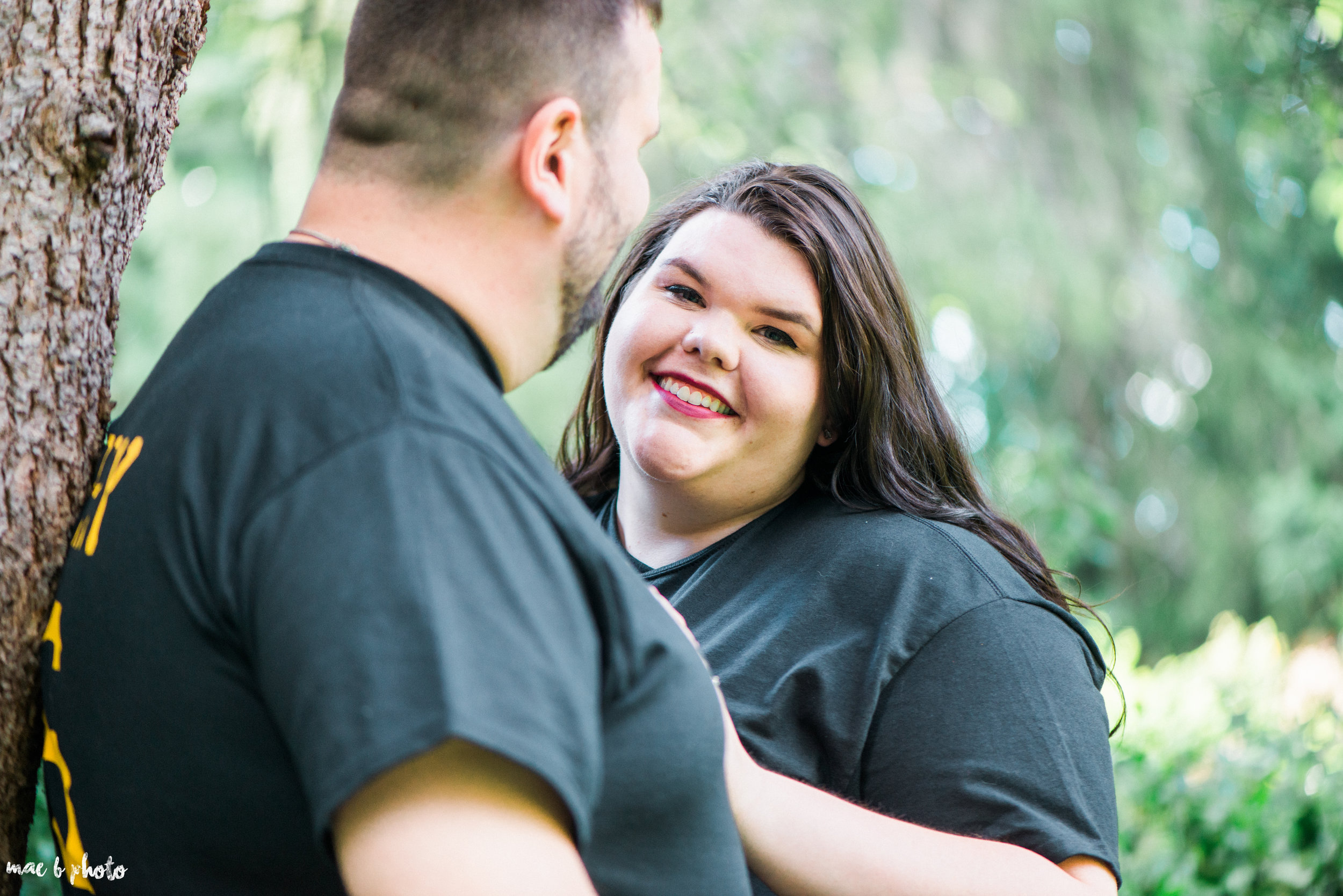 Kristina & Ryan's Summer Mill Creek Park Engagement Session in Youngstown, Ohio-28.jpg