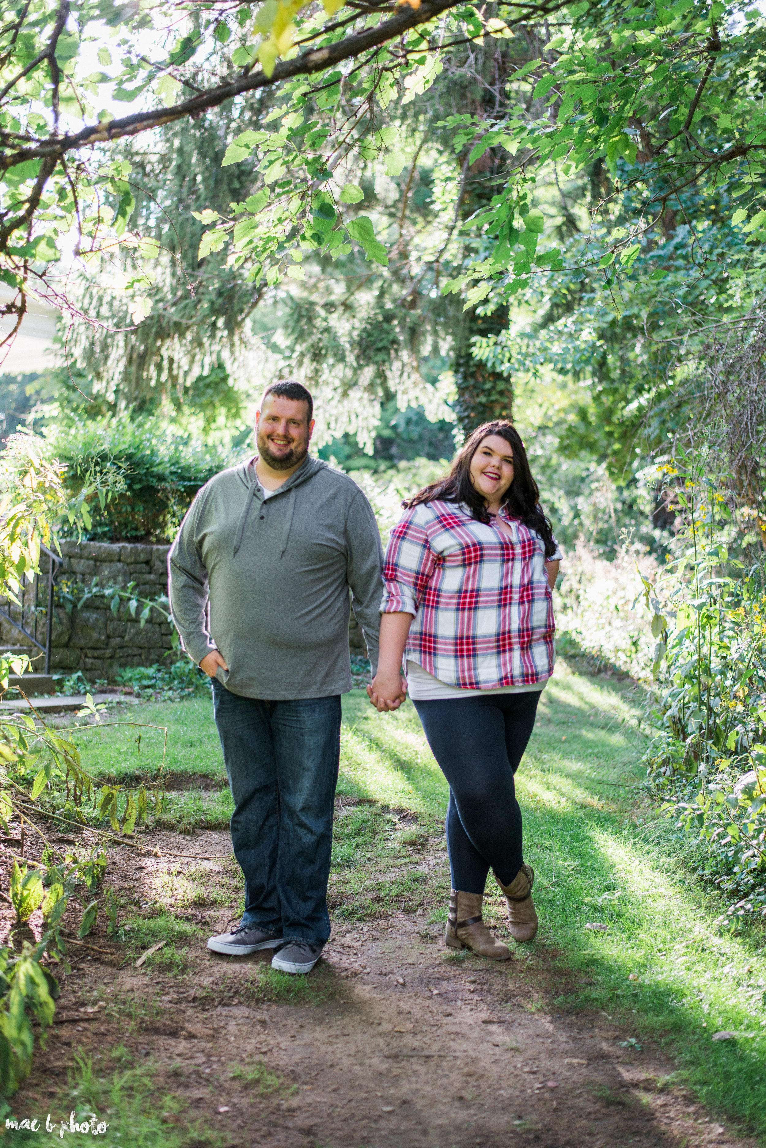 Kristina & Ryan's Summer Mill Creek Park Engagement Session in Youngstown, Ohio-8.jpg