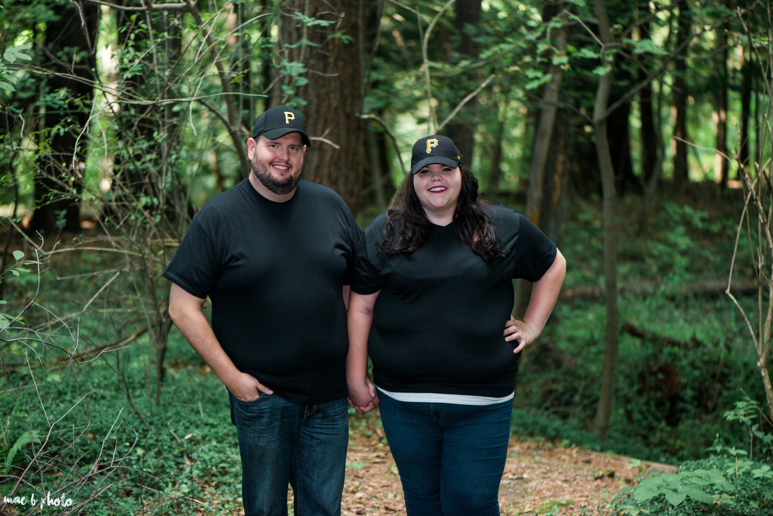 Kristina & Ryan's Summer Mill Creek Park Engagement Session in Youngstown, Ohio-22.jpg