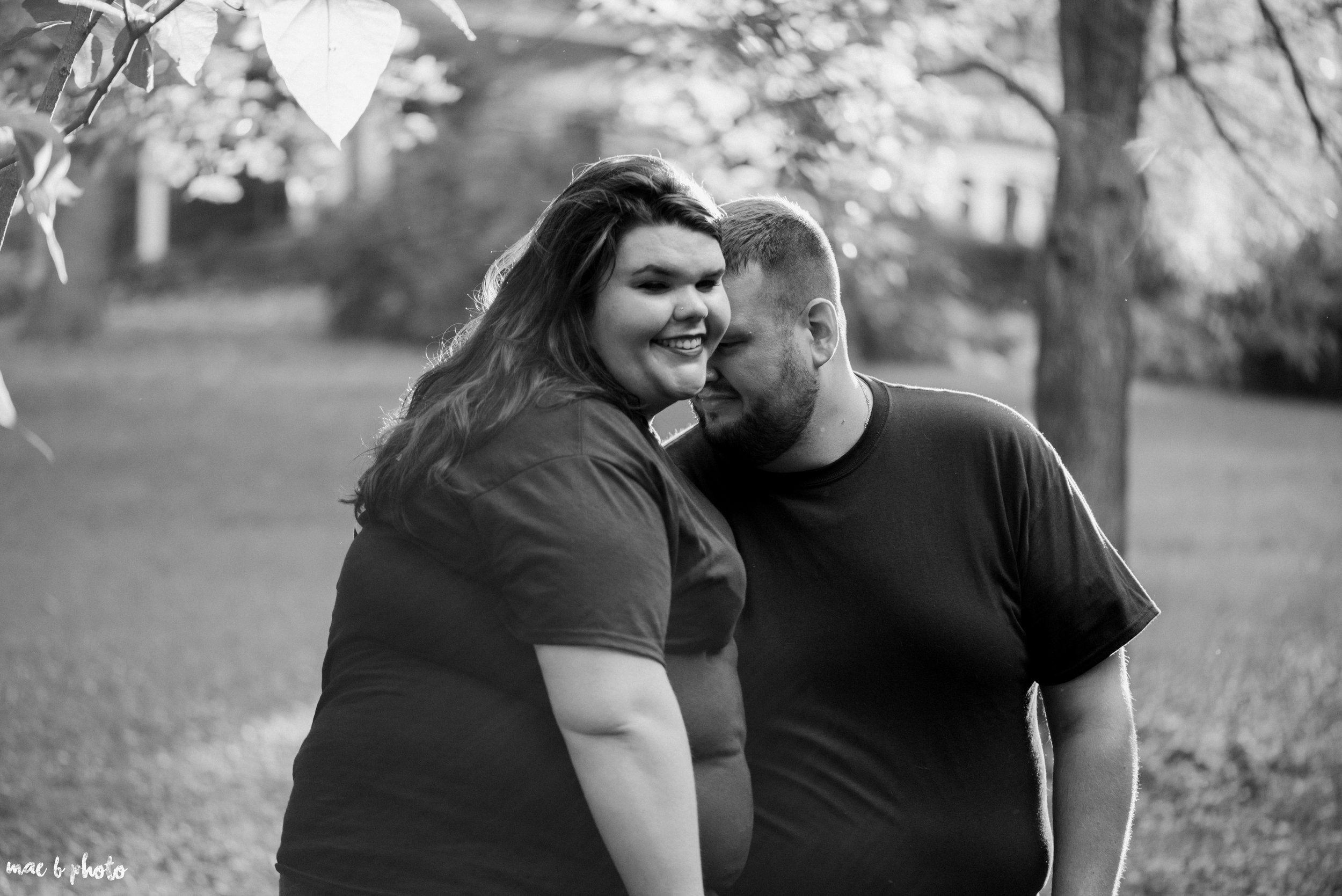 Kristina & Ryan's Summer Mill Creek Park Engagement Session in Youngstown, Ohio-37.jpg