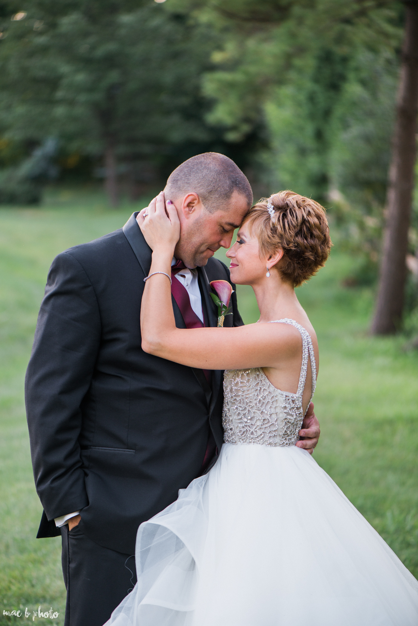 Mary Catherine & Chad's Elegant and Intimate Country Club Wedding at Squaw Creek in Youngstown Ohio by Mae B Photo-77.jpg