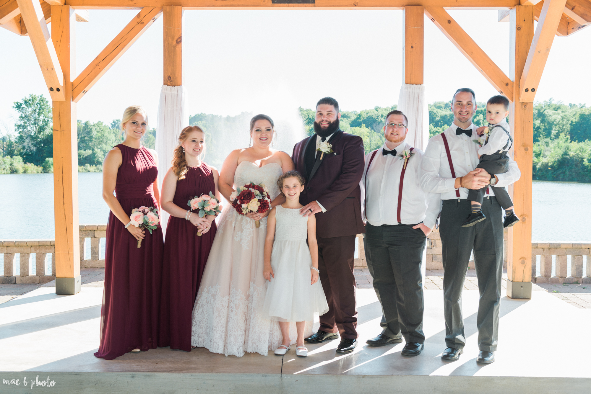 Amber & Kyle's Rustic Barn Wedding at SNPJ in Enon Valley, PA by Mae B Photo-57.jpg