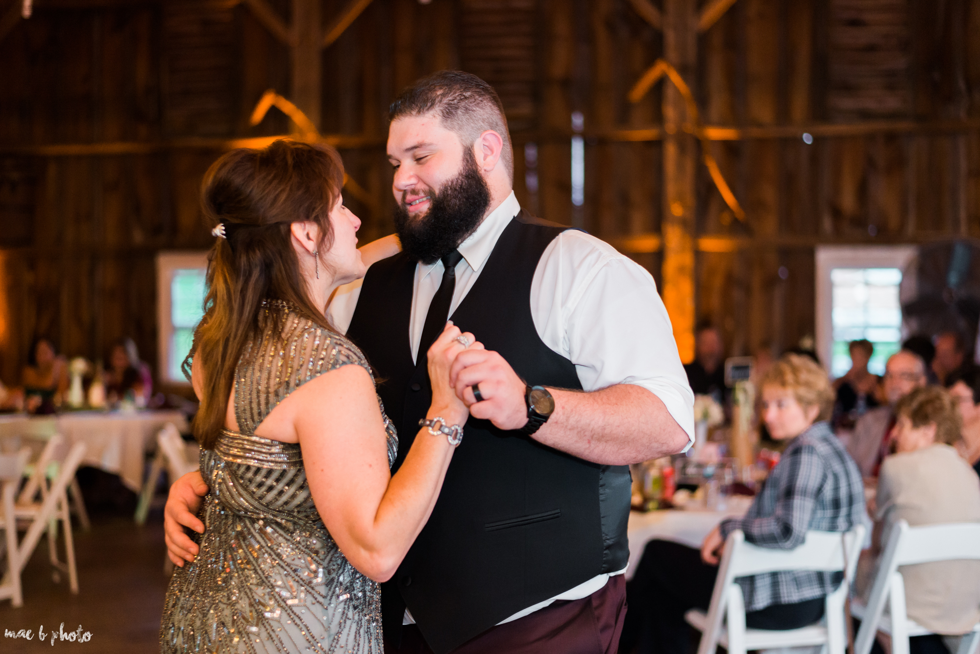Amber & Kyle's Rustic Barn Wedding at SNPJ in Enon Valley, PA by Mae B Photo-95.jpg