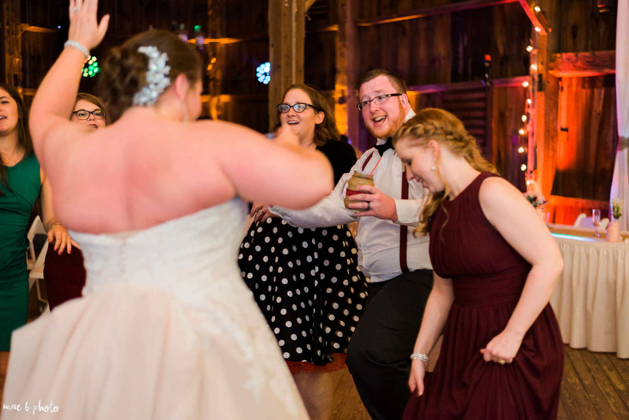Amber & Kyle's Rustic Barn Wedding at SNPJ in Enon Valley, PA by Mae B Photo-97.jpg