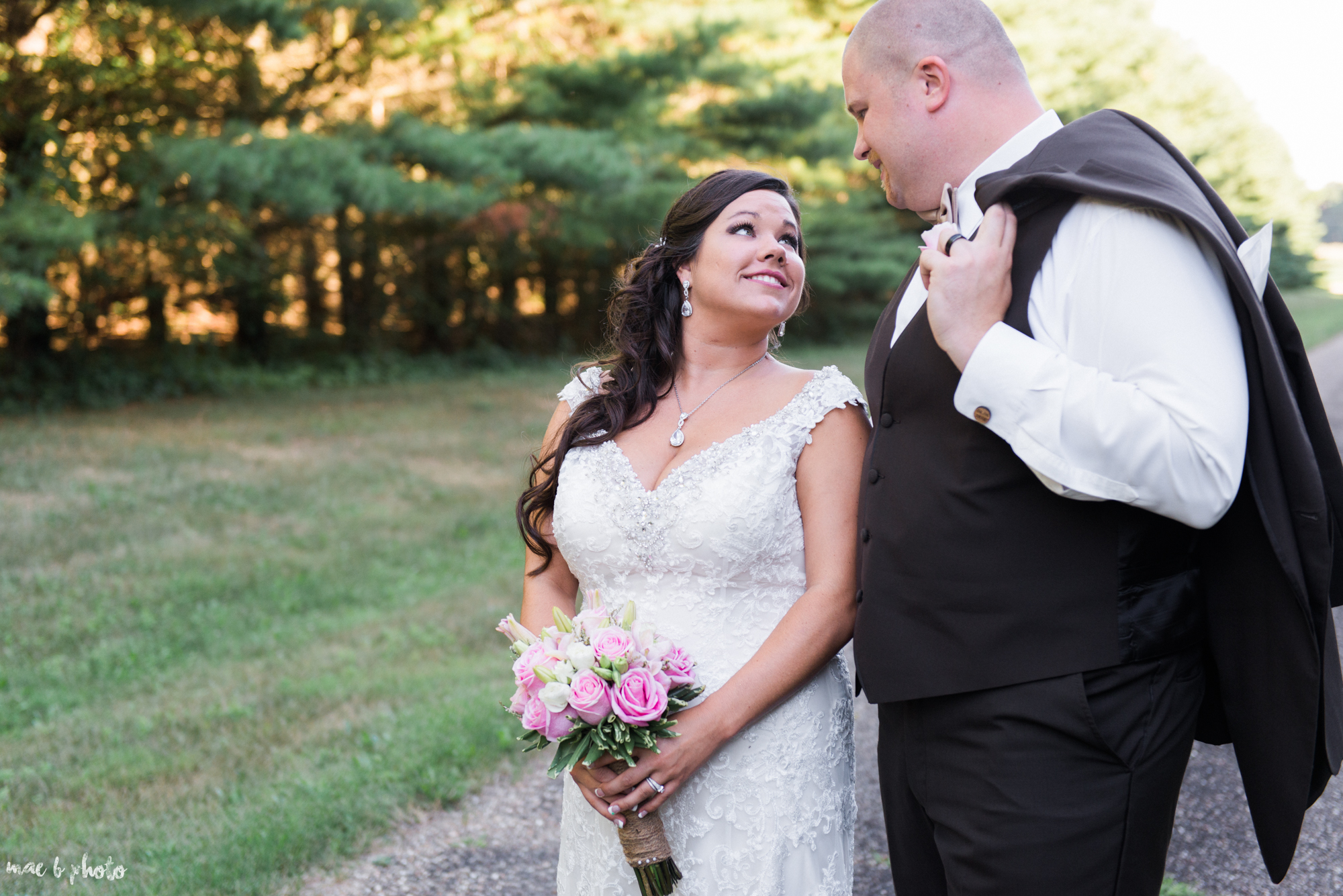 Gabby & Shane's Rustic Intimate Summer Barn Wedding at The Barn in Salem, Ohio Photographed by Mae B Photo-1.jpg