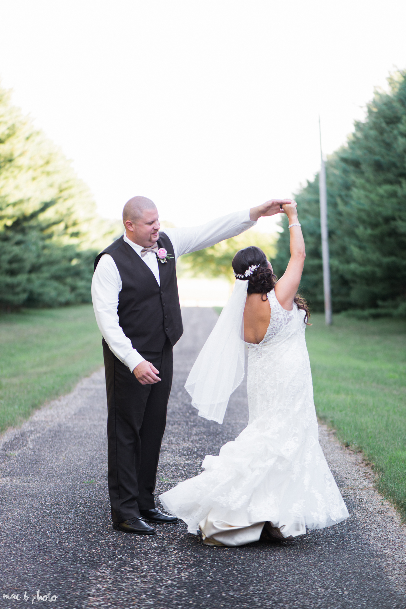 Gabby & Shane's Rustic Intimate Summer Barn Wedding at The Barn in Salem, Ohio Photographed by Mae B Photo-2.jpg