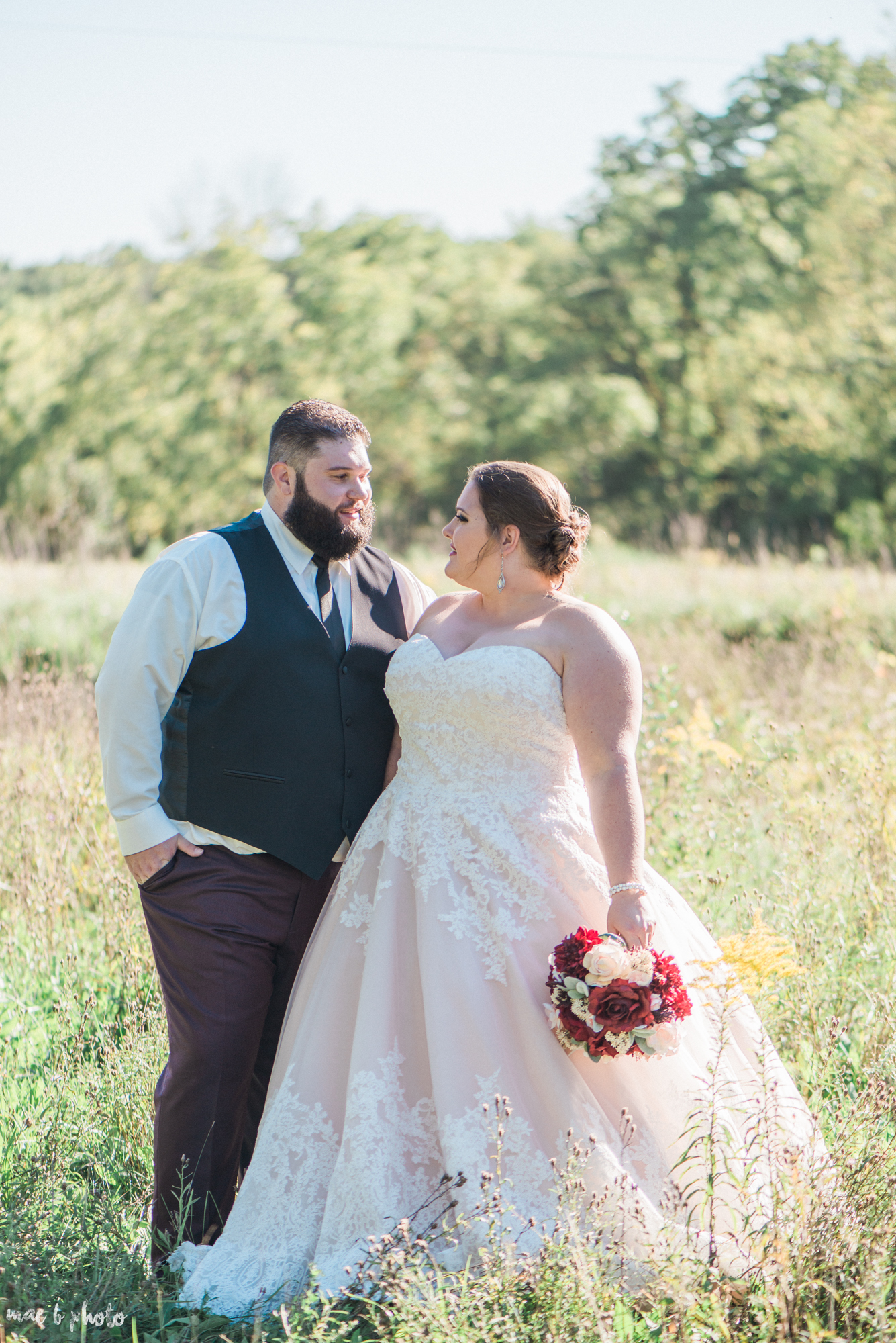 Amber & Kyle's Intimate Rustic Fall Barn Wedding at SNPJ in Enon Valley, PA Photographed by Mae B Photo-2.jpg