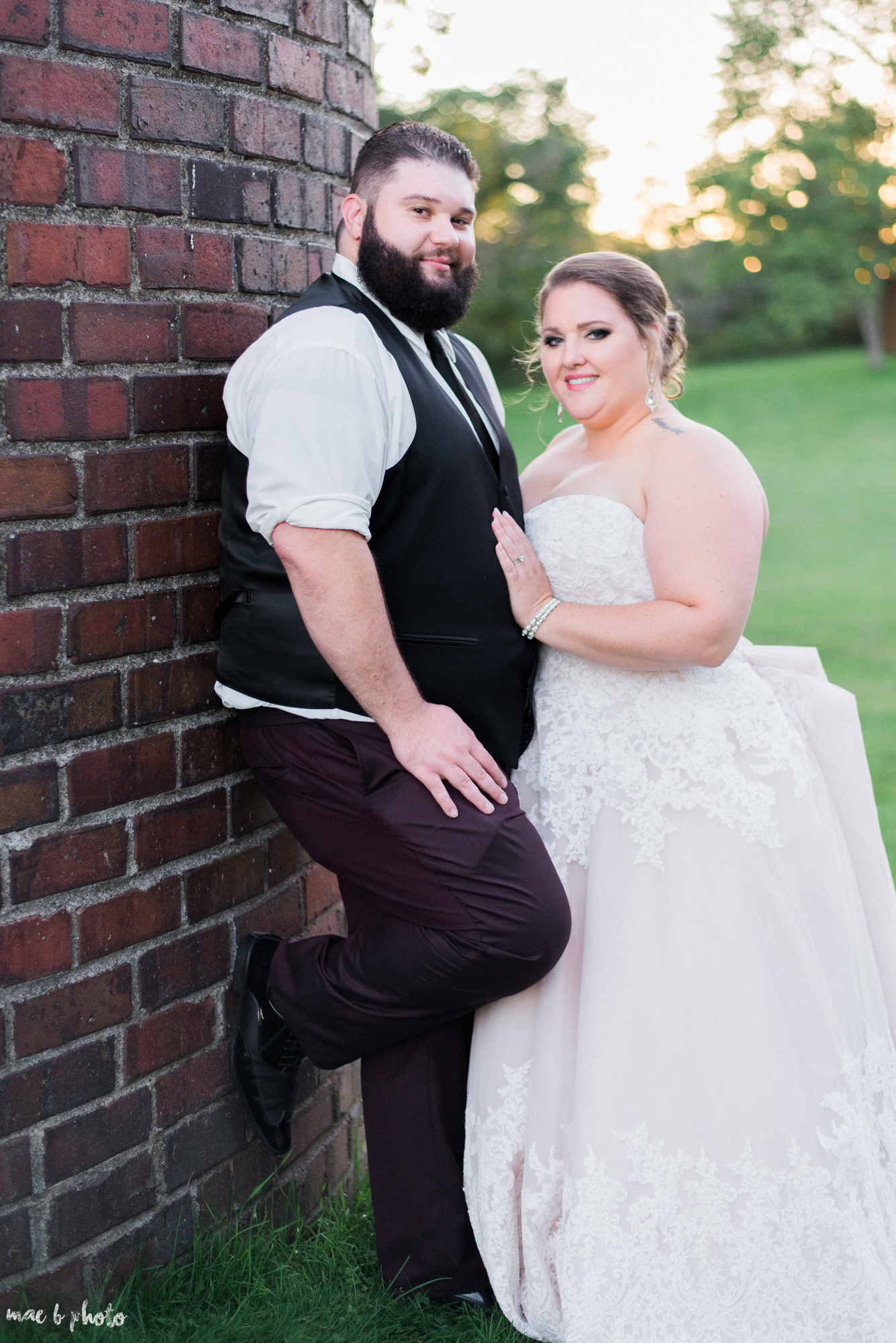 Amber & Kyle's Intimate Rustic Fall Barn Wedding at SNPJ in Enon Valley, PA Photographed by Mae B Photo-3.jpg