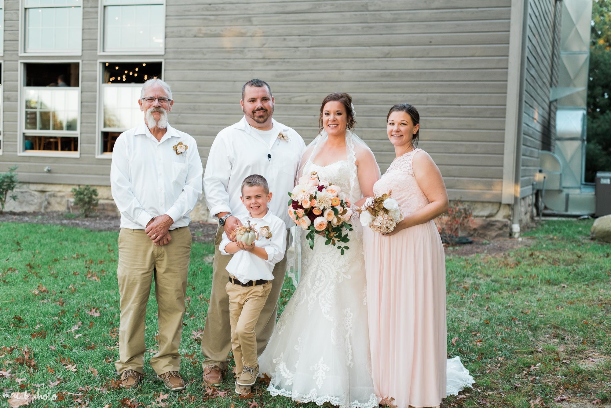 Sarah & Dustin's Rustic Chic Barn Wedding at Hartford Hill Winery in Hartford, Ohio by Mae B Photo-52.jpg