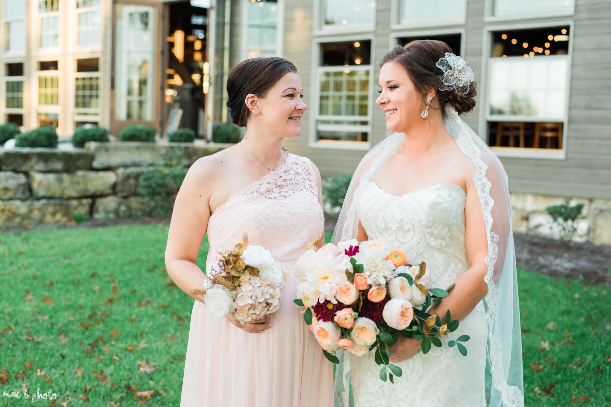 Sarah & Dustin's Rustic Chic Barn Wedding at Hartford Hill Winery in Hartford, Ohio by Mae B Photo-53.jpg