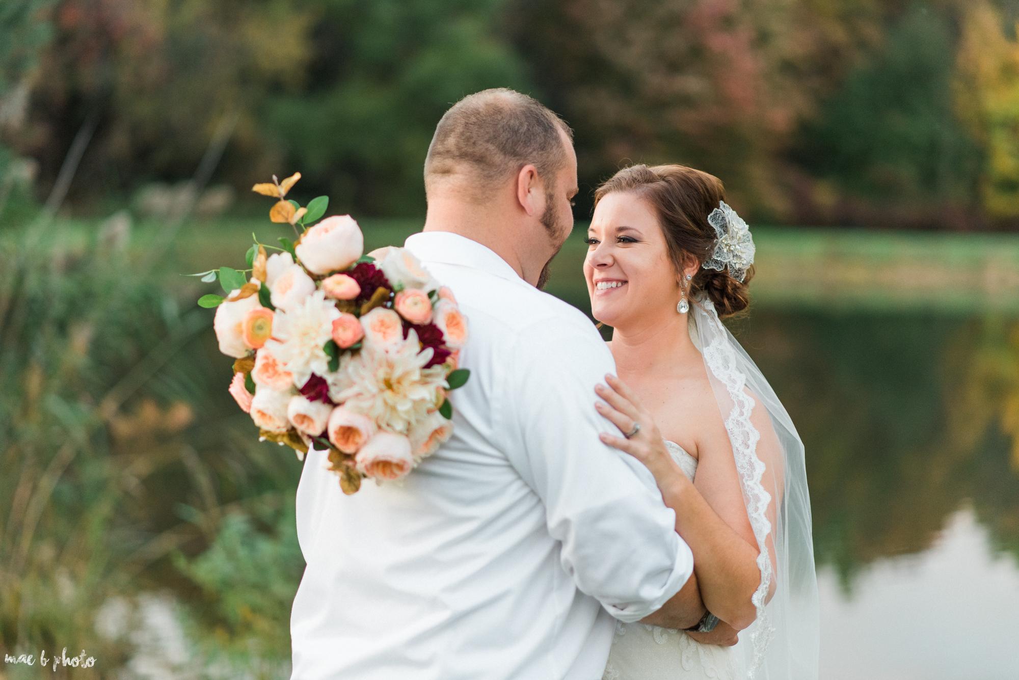 Sarah & Dustin's Rustic Chic Barn Wedding at Hartford Hill Winery in Hartford, Ohio by Mae B Photo-82.jpg