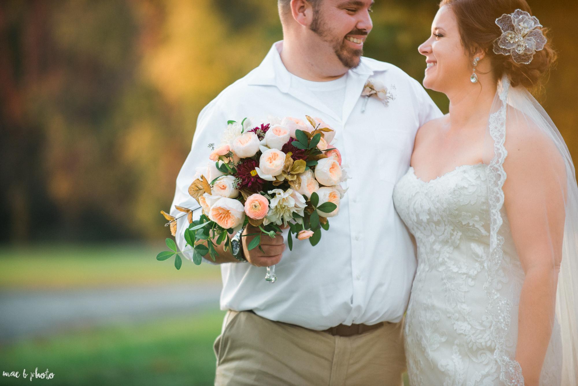 Sarah & Dustin's Rustic Chic Barn Wedding at Hartford Hill Winery in Hartford, Ohio by Mae B Photo-84.jpg