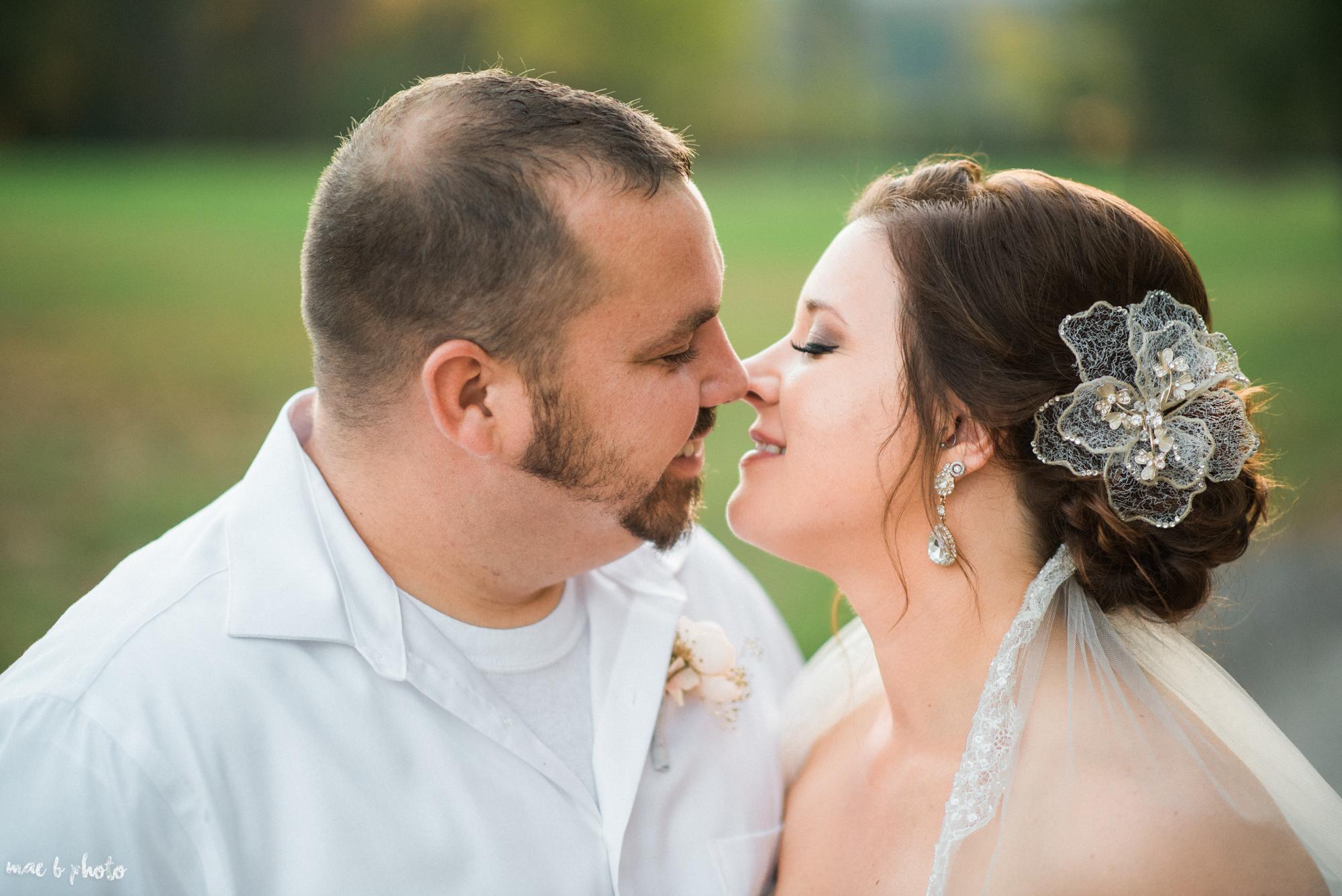 Sarah & Dustin's Rustic Chic Barn Wedding at Hartford Hill Winery in Hartford, Ohio by Mae B Photo-86.jpg