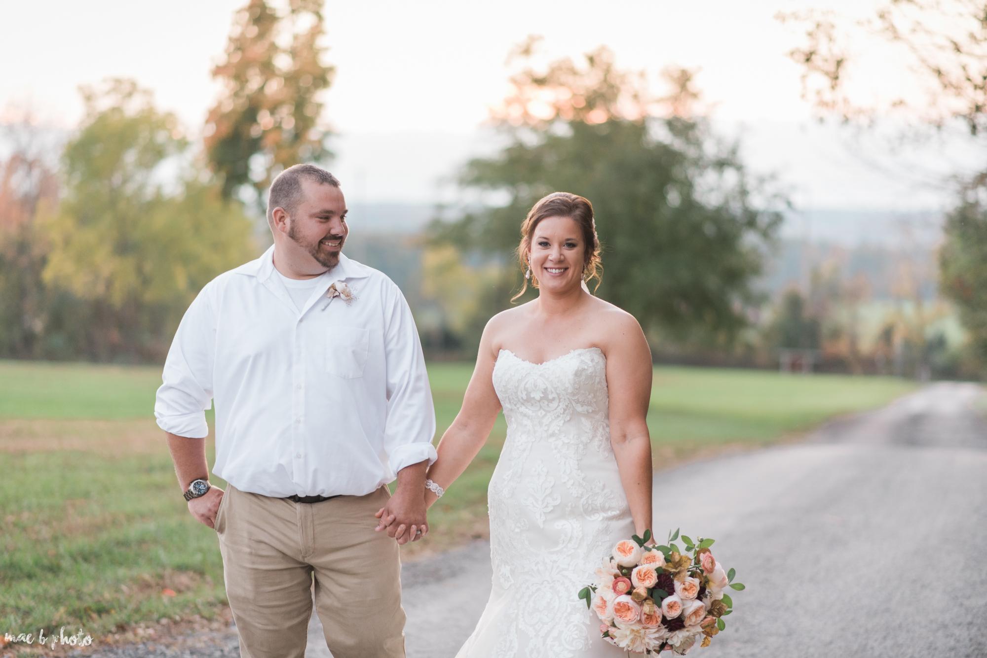 Sarah & Dustin's Rustic Chic Barn Wedding at Hartford Hill Winery in Hartford, Ohio by Mae B Photo-91.jpg