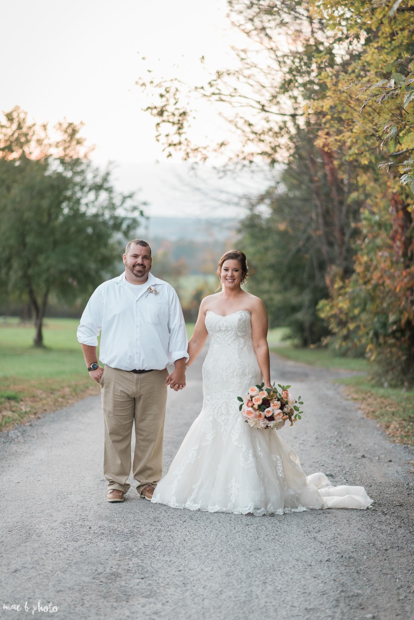 Sarah & Dustin's Rustic Chic Barn Wedding at Hartford Hill Winery in Hartford, Ohio by Mae B Photo-89.jpg