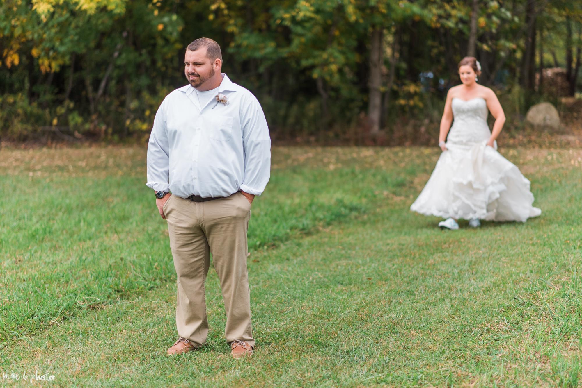 Sarah & Dustin's Rustic Chic Barn Wedding at Hartford Hill Winery in Hartford, Ohio by Mae B Photo-58.jpg