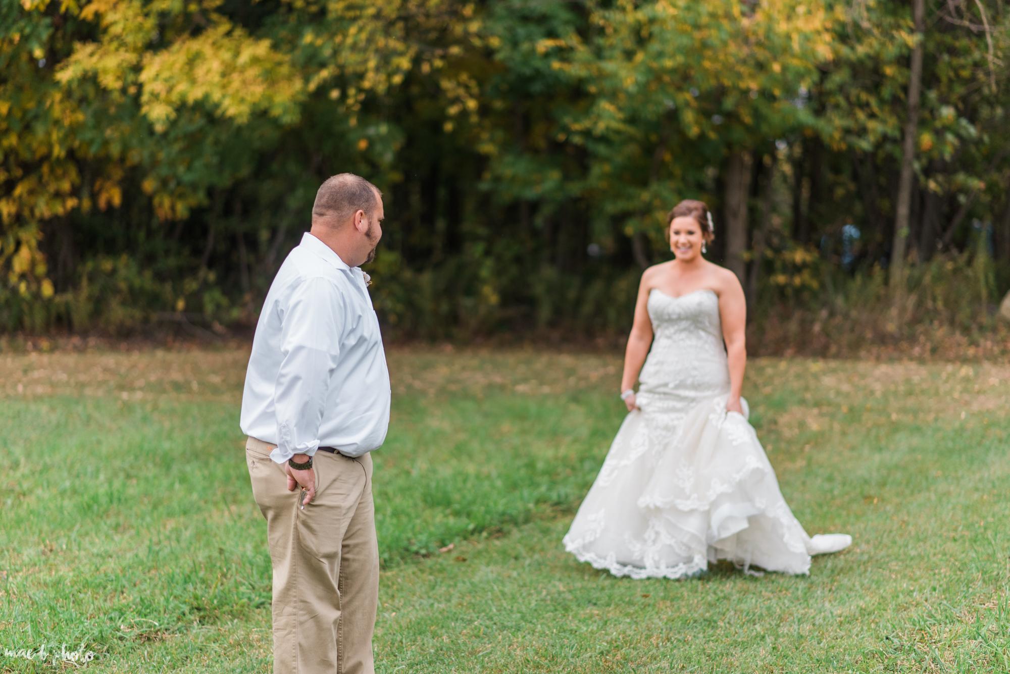 Sarah & Dustin's Rustic Chic Barn Wedding at Hartford Hill Winery in Hartford, Ohio by Mae B Photo-59.jpg