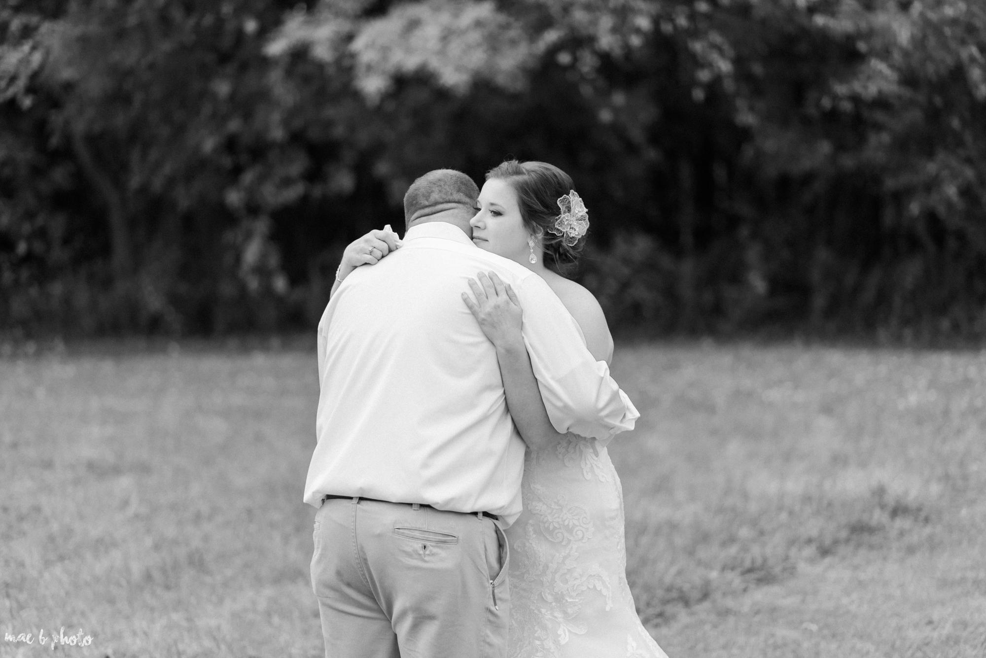 Sarah & Dustin's Rustic Chic Barn Wedding at Hartford Hill Winery in Hartford, Ohio by Mae B Photo-62.jpg