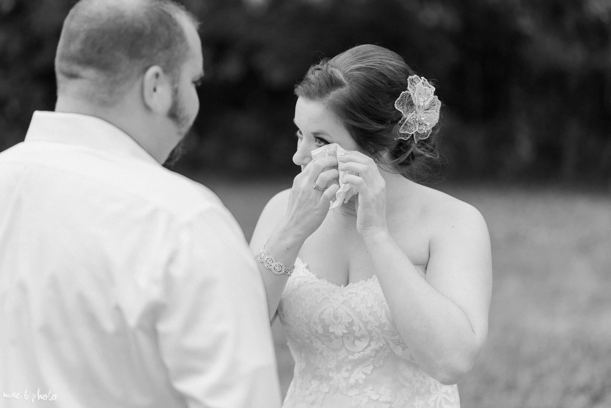 Sarah & Dustin's Rustic Chic Barn Wedding at Hartford Hill Winery in Hartford, Ohio by Mae B Photo-63.jpg