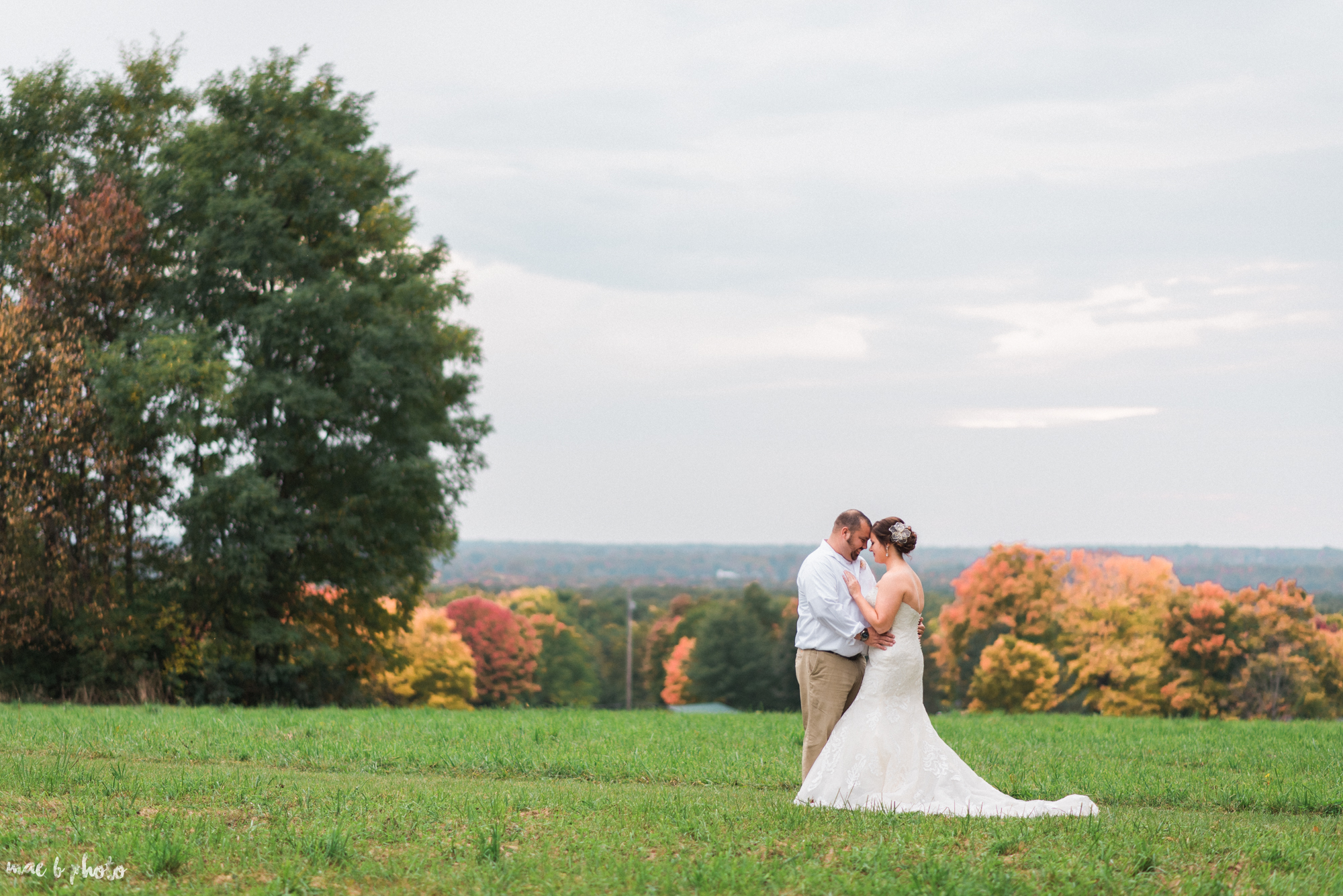 Sarah & Dustin's Rustic Chic Barn Wedding at Hartford Hill Winery in Hartford, Ohio by Mae B Photo-67.jpg