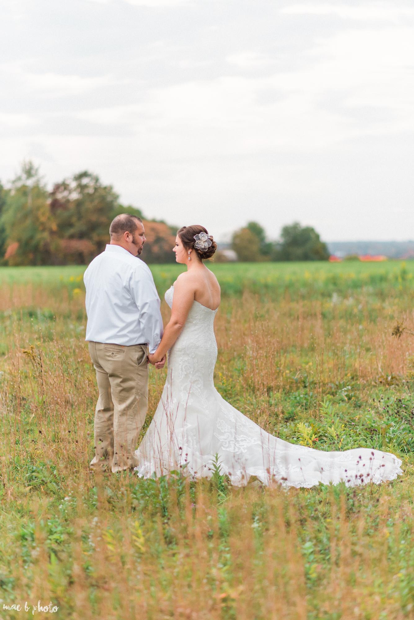 Sarah & Dustin's Rustic Chic Barn Wedding at Hartford Hill Winery in Hartford, Ohio by Mae B Photo-74.jpg