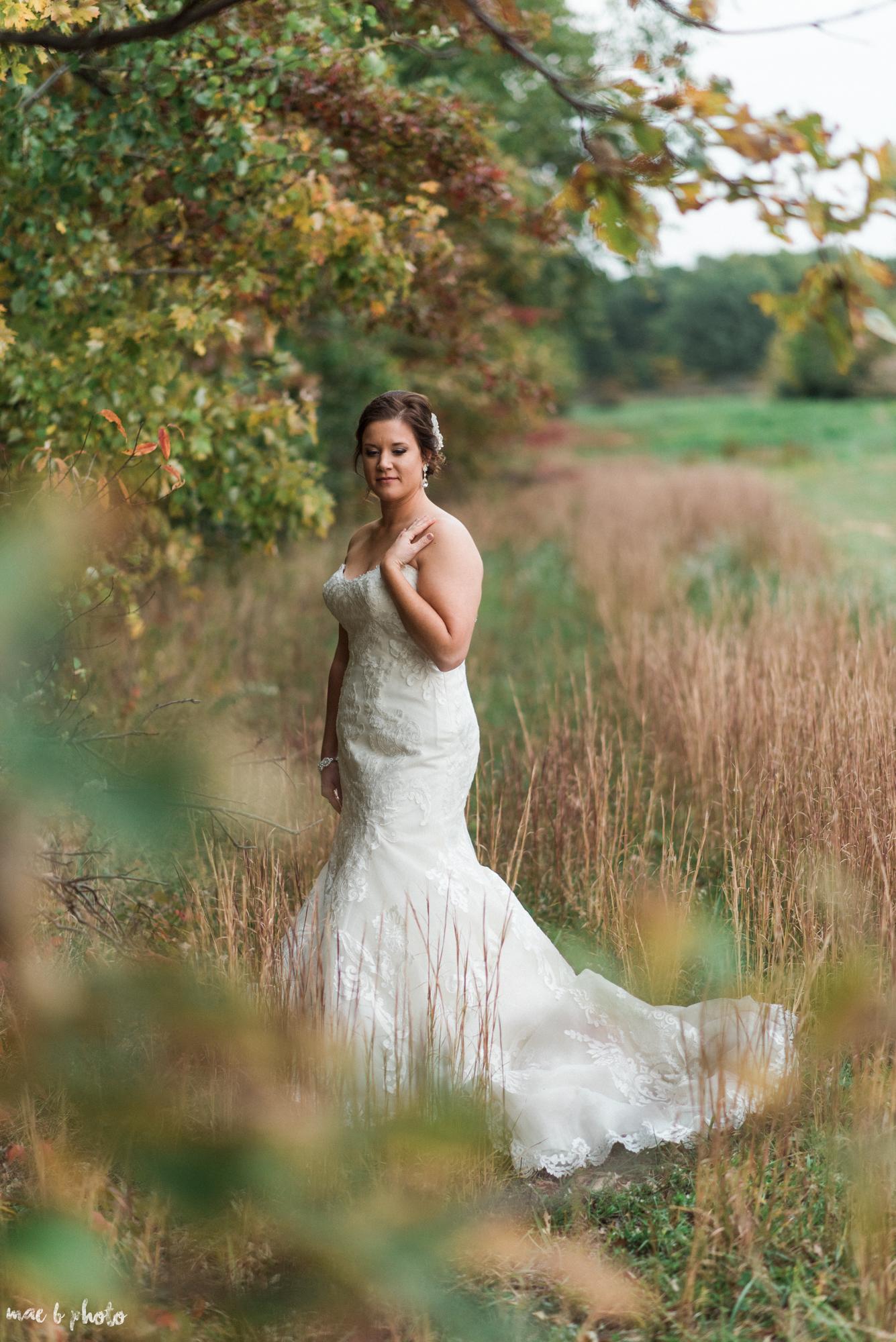 Sarah & Dustin's Rustic Chic Barn Wedding at Hartford Hill Winery in Hartford, Ohio by Mae B Photo-77.jpg