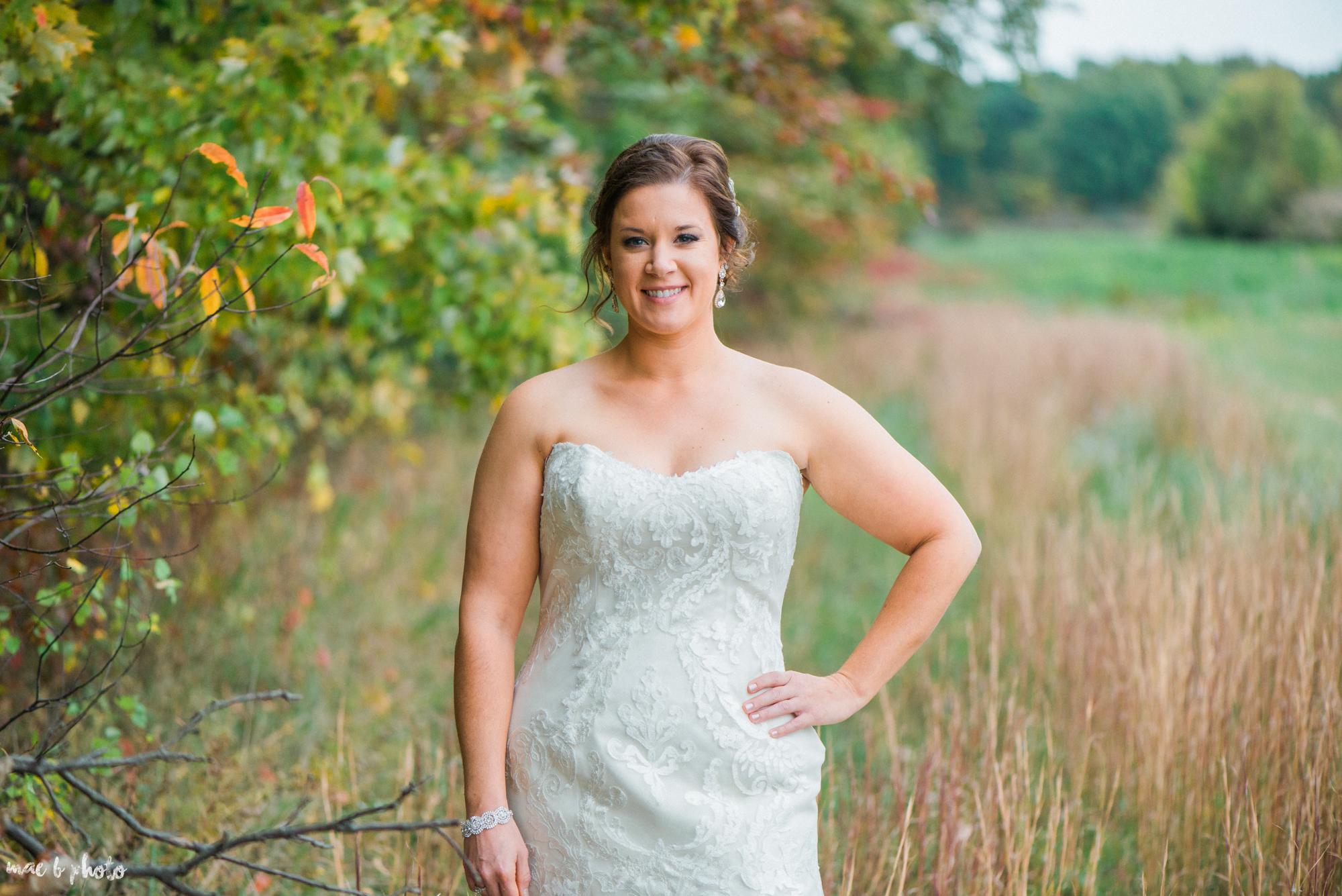 Sarah & Dustin's Rustic Chic Barn Wedding at Hartford Hill Winery in Hartford, Ohio by Mae B Photo-76.jpg