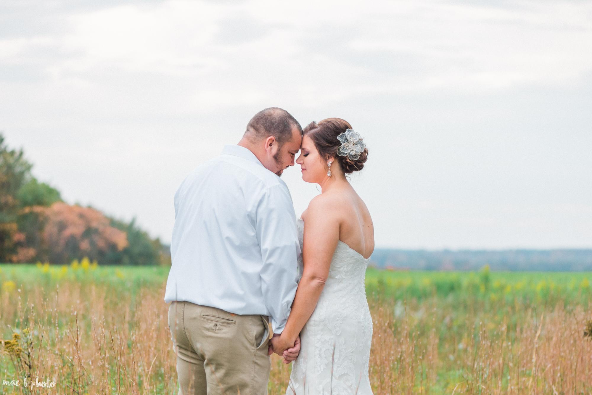 Sarah & Dustin's Rustic Chic Barn Wedding at Hartford Hill Winery in Hartford, Ohio by Mae B Photo-75.jpg